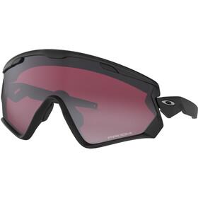 Oakley Wind Jacket 2.0 Sunglasses Matte Black/Prizm Snow Black Iridium